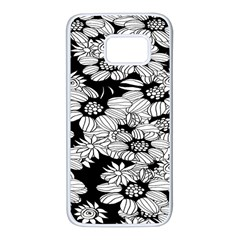 Mandala Calming Coloring Page Samsung Galaxy S7 White Seamless Case