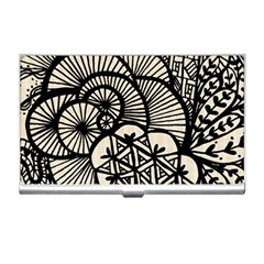 Background Abstract Beige Black Business Card Holders