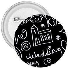 Wedding Chalkboard Icons Set 3  Buttons