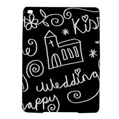 Wedding Chalkboard Icons Set Ipad Air 2 Hardshell Cases