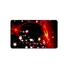 Circle Lines Wave Star Abstract Magnet (name Card)