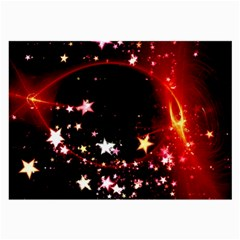 Circle Lines Wave Star Abstract Large Glasses Cloth