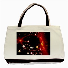Circle Lines Wave Star Abstract Basic Tote Bag (two Sides)