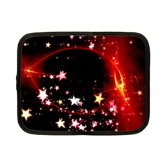 Circle Lines Wave Star Abstract Netbook Case (small)