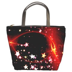Circle Lines Wave Star Abstract Bucket Bags