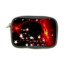 Circle Lines Wave Star Abstract Coin Purse