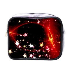 Circle Lines Wave Star Abstract Mini Toiletries Bags