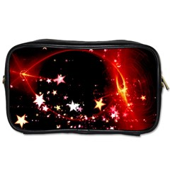 Circle Lines Wave Star Abstract Toiletries Bags