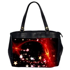 Circle Lines Wave Star Abstract Office Handbags (2 Sides)