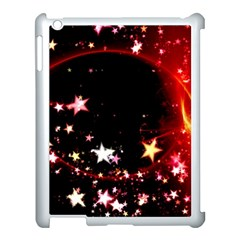 Circle Lines Wave Star Abstract Apple Ipad 3/4 Case (white)