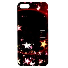 Circle Lines Wave Star Abstract Apple Iphone 5 Hardshell Case With Stand