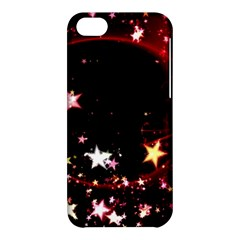 Circle Lines Wave Star Abstract Apple Iphone 5c Hardshell Case