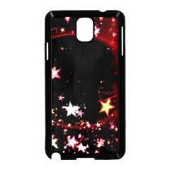 Circle Lines Wave Star Abstract Samsung Galaxy Note 3 Neo Hardshell Case (black)
