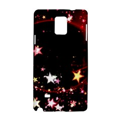 Circle Lines Wave Star Abstract Samsung Galaxy Note 4 Hardshell Case