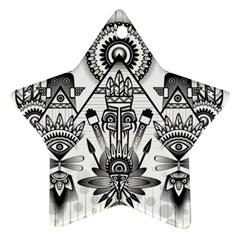 Ancient Parade Ancient Civilization Ornament (star)