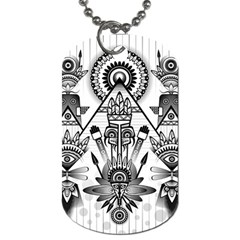 Ancient Parade Ancient Civilization Dog Tag (one Side)