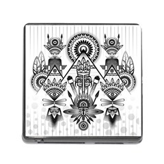 Ancient Parade Ancient Civilization Memory Card Reader (square)