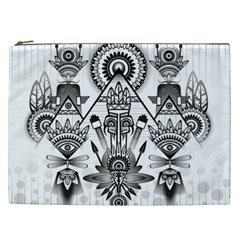 Ancient Parade Ancient Civilization Cosmetic Bag (xxl)