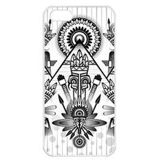 Ancient Parade Ancient Civilization Apple Iphone 5 Seamless Case (white)