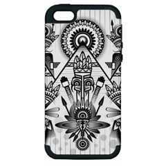 Ancient Parade Ancient Civilization Apple Iphone 5 Hardshell Case (pc+silicone)