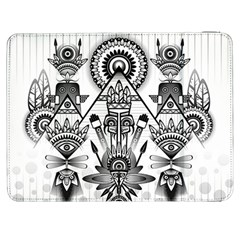 Ancient Parade Ancient Civilization Samsung Galaxy Tab 7  P1000 Flip Case