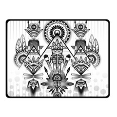 Ancient Parade Ancient Civilization Double Sided Fleece Blanket (small)