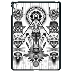 Ancient Parade Ancient Civilization Apple Ipad Pro 9 7   Black Seamless Case