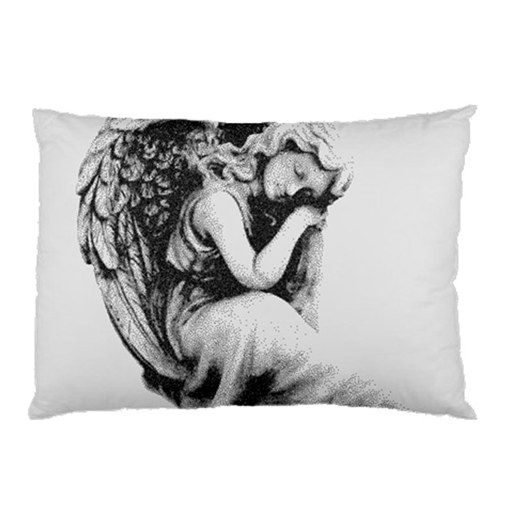 Stippling Drawing Dots Stipple Pillow Case (Two Sides)