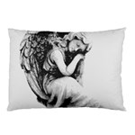 Stippling Drawing Dots Stipple Pillow Case (Two Sides) Back