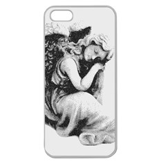 Stippling Drawing Dots Stipple Apple Seamless Iphone 5 Case (clear)