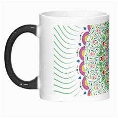 Flower Abstract Floral Morph Mugs