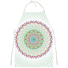 Flower Abstract Floral Full Print Aprons