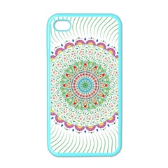 Flower Abstract Floral Apple Iphone 4 Case (color)