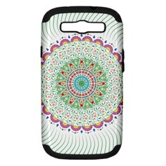 Flower Abstract Floral Samsung Galaxy S Iii Hardshell Case (pc+silicone)