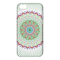 Flower Abstract Floral Apple Iphone 5c Hardshell Case