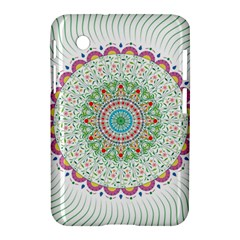 Flower Abstract Floral Samsung Galaxy Tab 2 (7 ) P3100 Hardshell Case