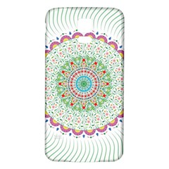 Flower Abstract Floral Samsung Galaxy S5 Back Case (white)