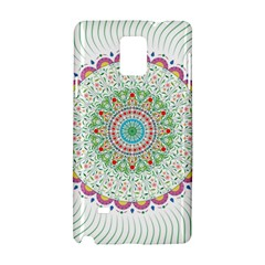Flower Abstract Floral Samsung Galaxy Note 4 Hardshell Case