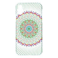 Flower Abstract Floral Apple Iphone X Hardshell Case