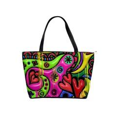 Seamless Texture Pattern Tile Shoulder Handbags