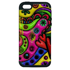 Seamless Texture Pattern Tile Apple Iphone 5 Hardshell Case (pc+silicone)