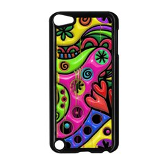 Seamless Texture Pattern Tile Apple Ipod Touch 5 Case (black)