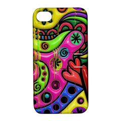 Seamless Texture Pattern Tile Apple Iphone 4/4s Hardshell Case With Stand