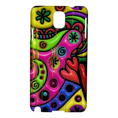 Seamless Texture Pattern Tile Samsung Galaxy Note 3 N9005 Hardshell Case