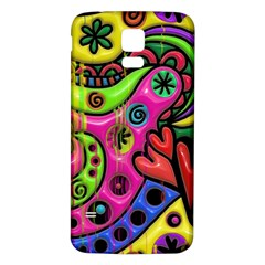 Seamless Texture Pattern Tile Samsung Galaxy S5 Back Case (white)