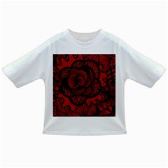 Background Abstract Red Black Infant/toddler T Shirts