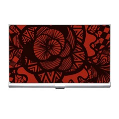 Background Abstract Red Black Business Card Holders