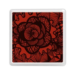 Background Abstract Red Black Memory Card Reader (square)
