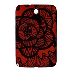 Background Abstract Red Black Samsung Galaxy Note 8 0 N5100 Hardshell Case