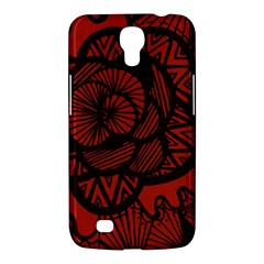 Background Abstract Red Black Samsung Galaxy Mega 6 3  I9200 Hardshell Case